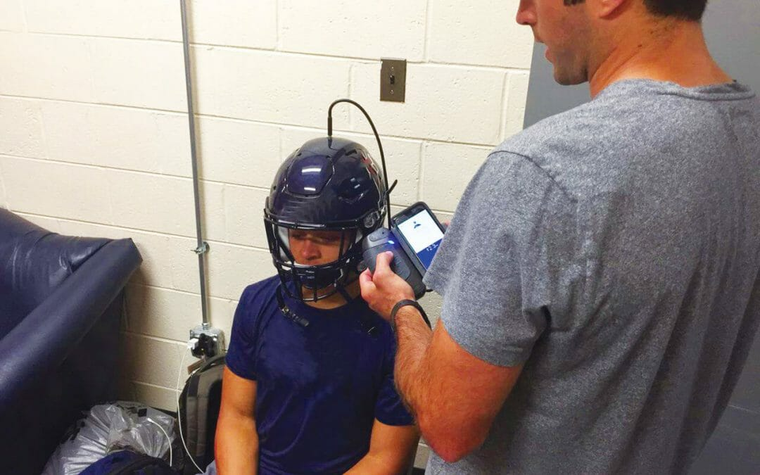New Technology Strives to Ensure a Properly Fit Football Helmet For Every Player